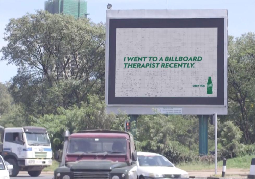 sprite coca cola billboard kenya
