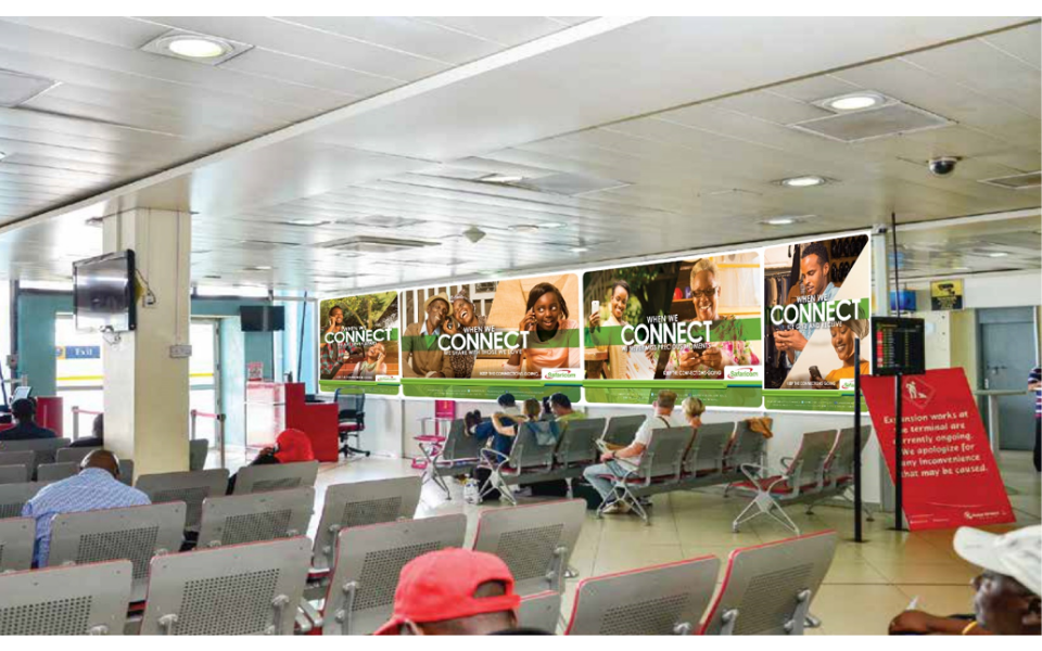 KQ Terminal Arrivals and Departures Passenger Lounge